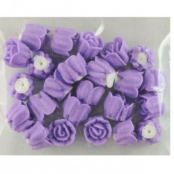 10mm Icing Roses - Purple