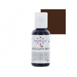 Americolor Chocolate Brown Gel Colour