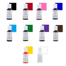 Americolor Gel Colour Set #1 (Set of 10)