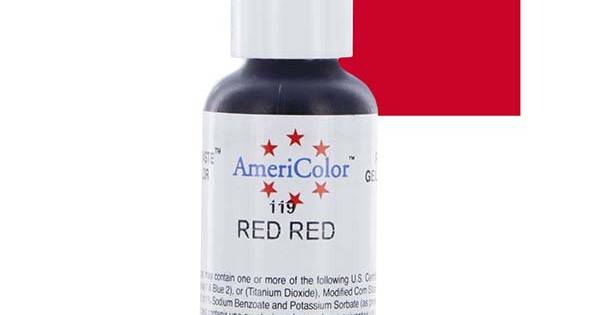 Americolor Red Red Gel Colour
