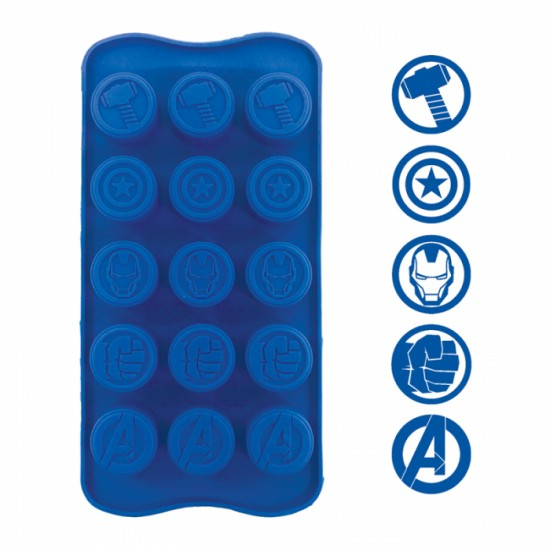 Avengers Silicone Chocolate Mould