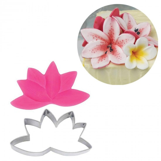 Blossom Sugar Art Lily Cutter and Veiner Set