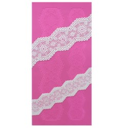 Cake Lace Mat - Broderie Anglaise