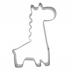 Cartoon Giraffe Cookie Cutter