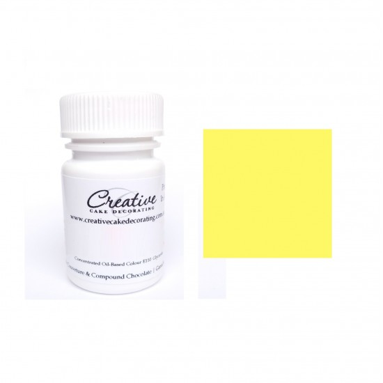 Creative Cake Decorating Oil Colour - Pretty in Lemon