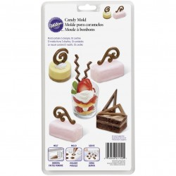 Wilton Dessert Accents Candy Mold
