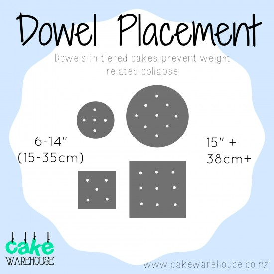 Cakers Dowels - Small