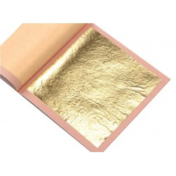 Edible Gold Leaf Transfer - Book of 5