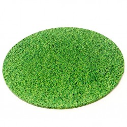 "10"" Round Grass Look Cake Board"