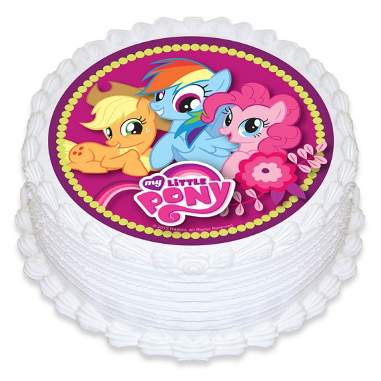 My Little Pony Icing Image Best Before Jan 2021