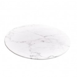 """10"""" Round Marble Look Cake Board"""