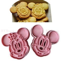 Mickey and Minnie Plunger Cutters