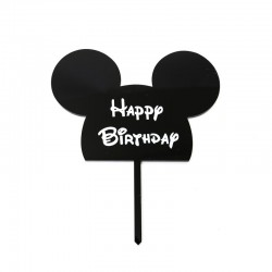 Mickey Mouse Acrylic Cake Topper