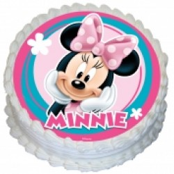 Edible Icing Cake Image - Minnie Mouse