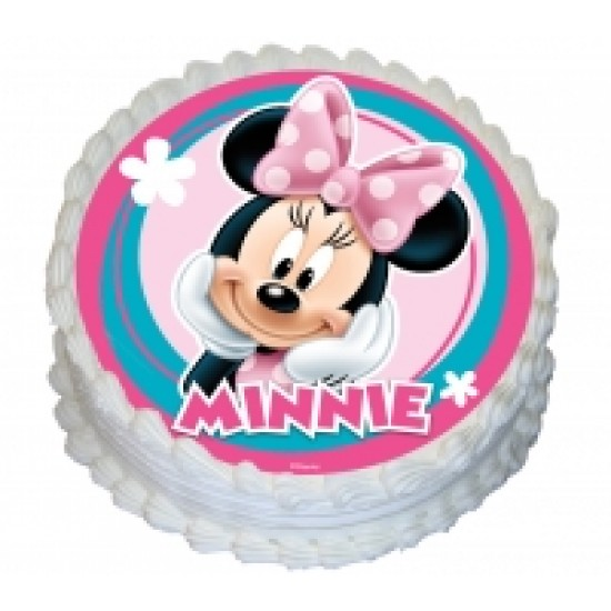 Edible Icing Cake Image - Minnie Mouse Best Before March 2021