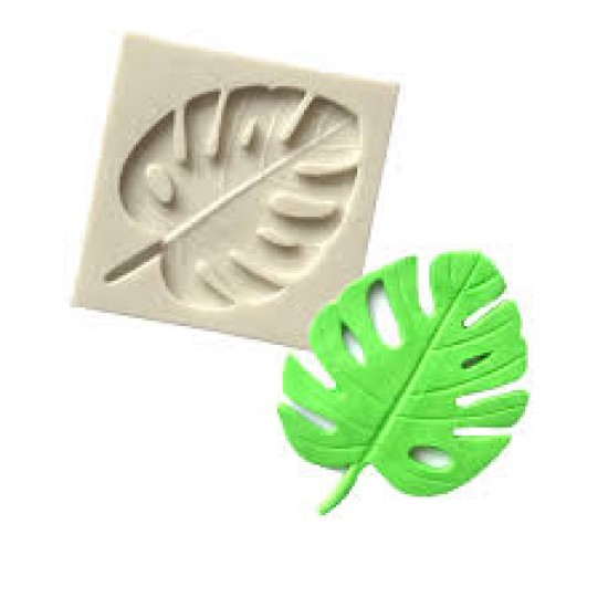 Monstera Leaf Silicone Mould