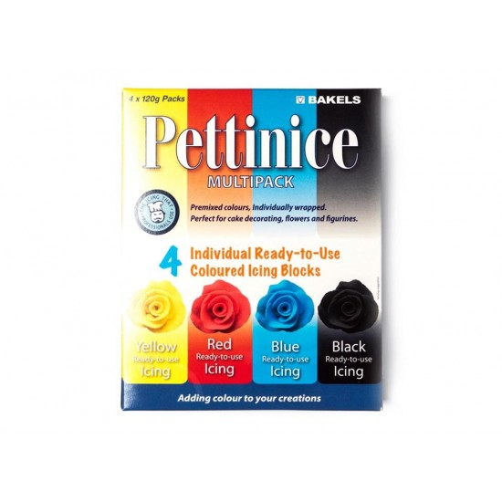 Bakels Pettinice Fondant - Multi Pack