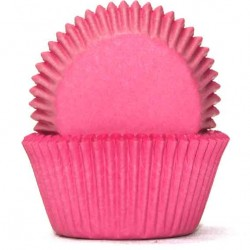 Plain Baking Cups / Cupcake Cases - Pink