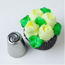 Extra Large Russian Flower Piping Tip #1