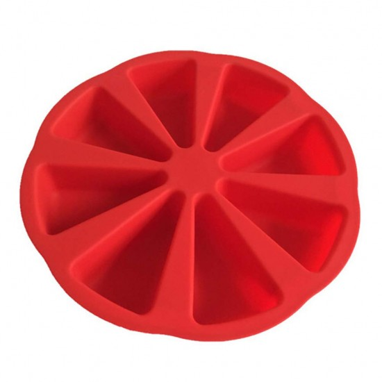 Silicone Individual Wedge Cake Mould