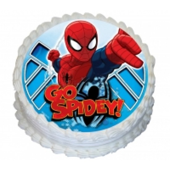 Spiderman Icing Image
