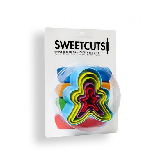 SweetCuts Gingerbread Man Cookie Cutter Set