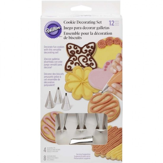 Wilton 12 Piece Cookie Decorating Set